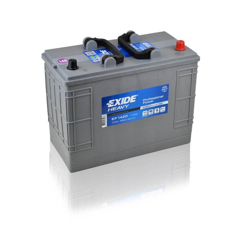 Autobatéria Exide Heavy Professional Power 142Ah 12V 850A EF1420